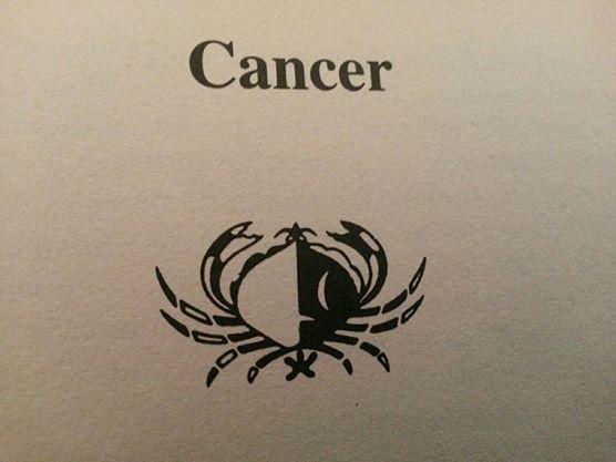 cancer. Black Bedroom Furniture Sets. Home Design Ideas