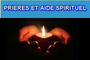 Prieres et aide spirituel