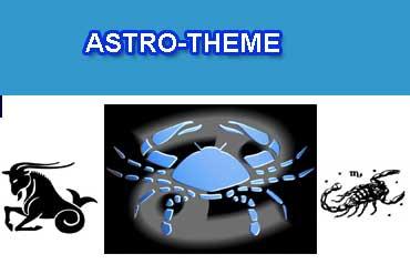 Voyance astro theme